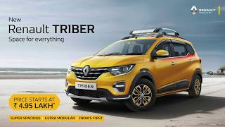 Renault India Pvt. Ltd launched 'Renault Triber'