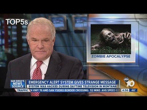 5 Eeriest & Strangest Broadcast Interruptions In History