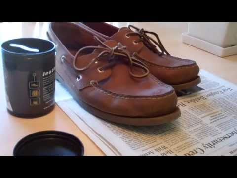 How to polish Sperry Topsiders (Leather Shoes)