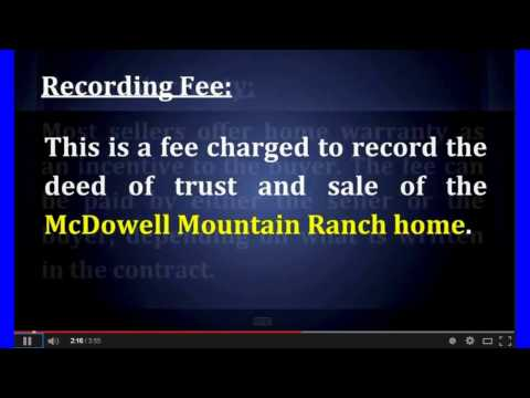 How Much Does it Cost to Sell My McDowell Mountain Ranch Home