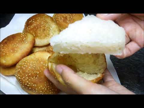 Bánh Bò Bánh Tiêu Vietnamese steamed rice cake and Hollow donuts