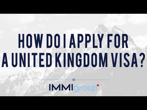 How do I apply for a United Kingdom visa?