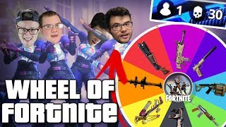 WHEEL OF FORTNITE SQUADS CHALLENGE!! (WARNING: IMPOSSIBLE??)