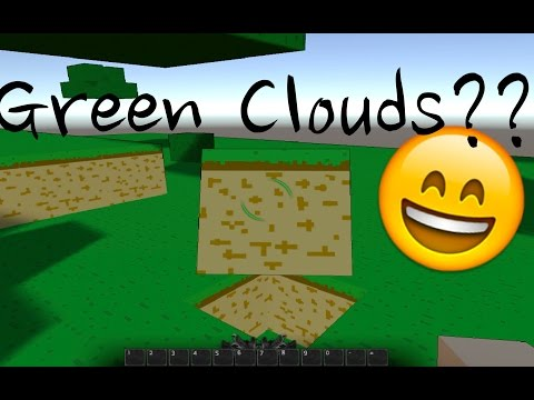 Green Bushy Clouds?? | Pixgen (Sandbox) Building Game
