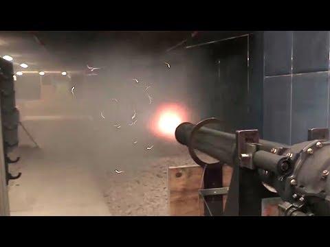 M61 Vulcan, GAU-8 Avenger (A-10's Huge-Ass Gun) Test Fire