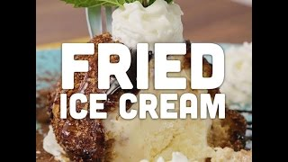 How to Make Simple Fried Ice Cream