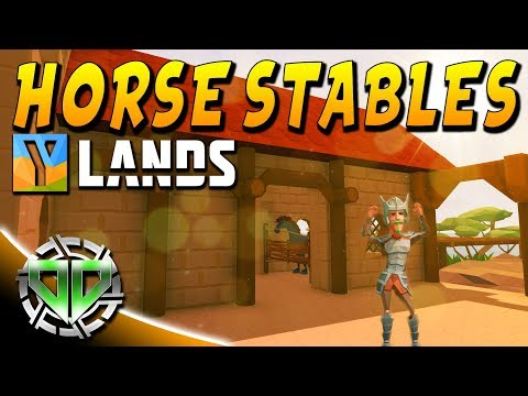 Building Horse Stables! : YLands Gameplay : PC Early Access Best Creations