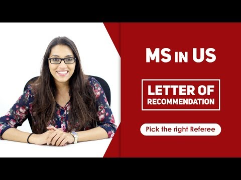 MS in US: Letter of Recommendation | Who is an ideal referee for your LOR?