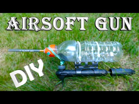 How To Make a Cheap Airsoft Gun!