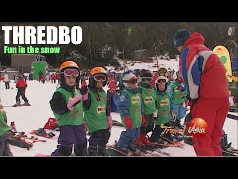 Australia - Skiing in the Snowy Mountain paradise of Thredbo