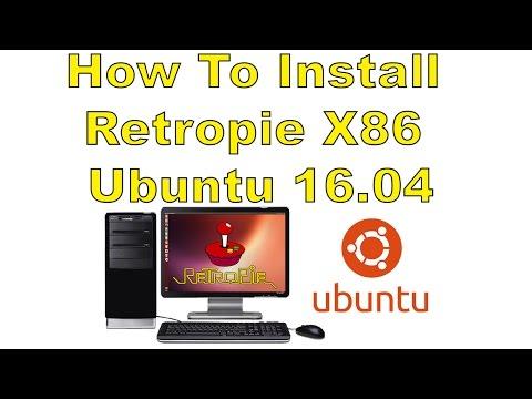 How To Install Retropie X86 In Ubuntu 16.04 Retropie On Pc!