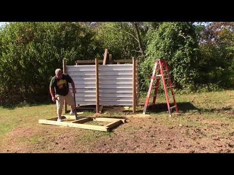 Off Grid Outdoor Solar Shower Build - pt 4