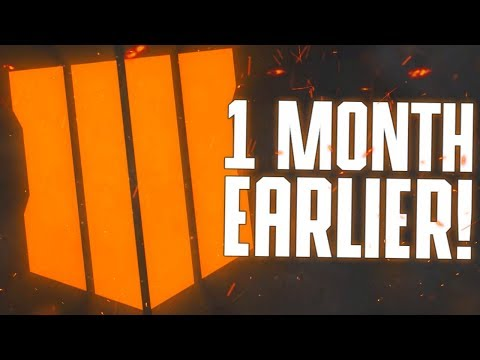 Black Ops 4 is Releasing 1 Month Earlier! (Official Release Date)