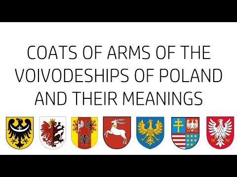 Coats of Arms of the Voivodeships of Poland and their Meanings
