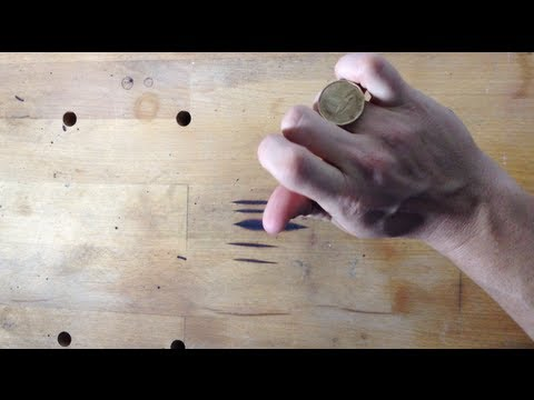 How to roll a coin across your knuckles [TECHNICALITIES]