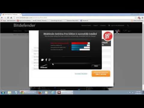 How to Install Bitdefender Antivirus - FREE Antivirus Edition
