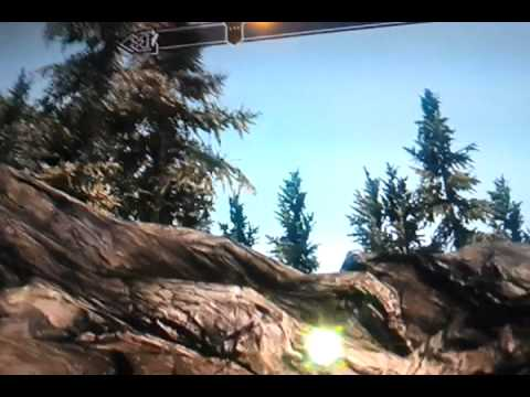 Flying Skyrim horse!