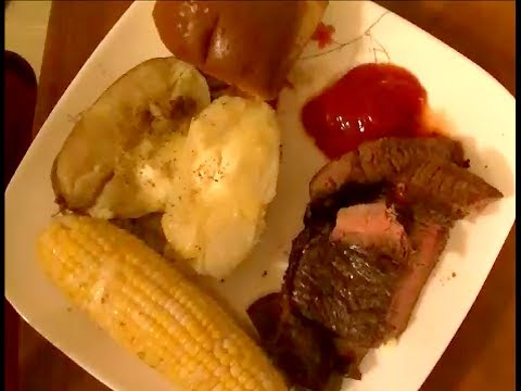 Sirloin Steaks and Corn on the Cob Cooked on my Nuwave Pro Infrared Oven.  Success or Failure?
