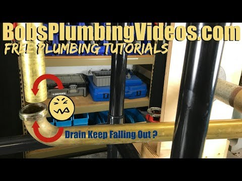 Kitchen Sink Drain Pipe Leaking /  Permanent Fix