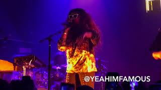 H.E.R Live In NYC at The Bowery Ballroom on the Lights On Tour