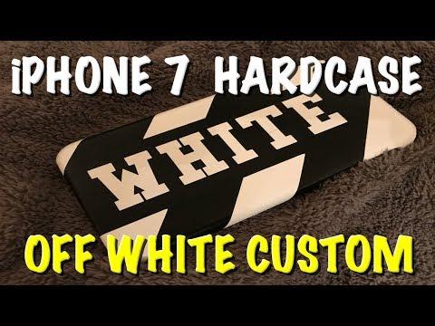 How To OFF WHITE Custom iphone HardCase