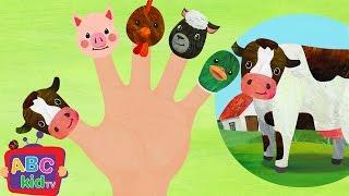 Finger Family Farm Animals | CoComelon Nursery Rhymes & Kids Songs