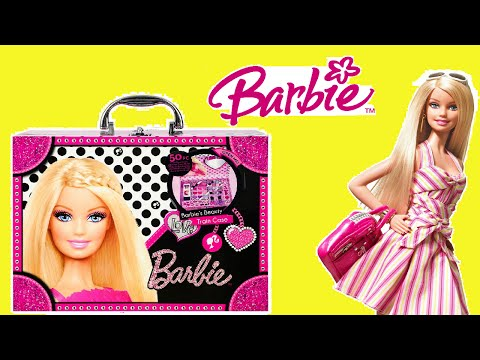 Barbie Makeup Box for Kids - Unboxing Fun !!!