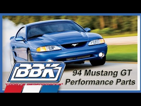 Mustang GT Throttle Body & Cold Air Kit Install (1994-95) Review
