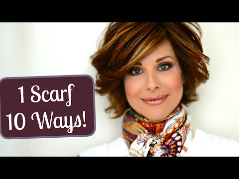 My Top 10 Ways to Tie a Scarf