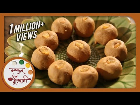 Besan Laddu   Traditional Recipe by Archana   Quick Ladoo   Indian Sweets in Marathi