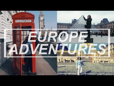 I WENT TO EUROPE!!! | Paris & London Travel Diary