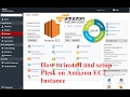 How to install and setup Plesk on Amazon EC2 instance