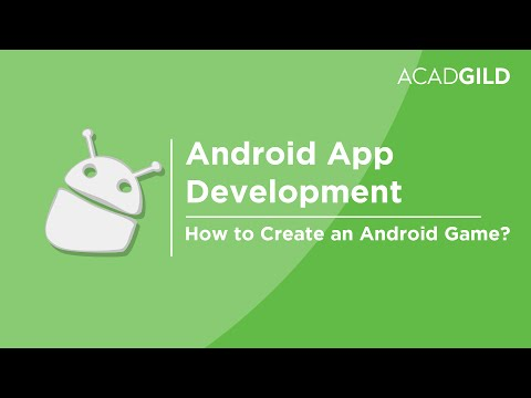 How to Create an Android Game | Android Game Development Tutorial | Android Game App Tutorial
