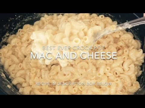 Best Ever Crock Pot Macaroni and Cheese