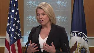 Department Press Briefing - April 19, 2018
