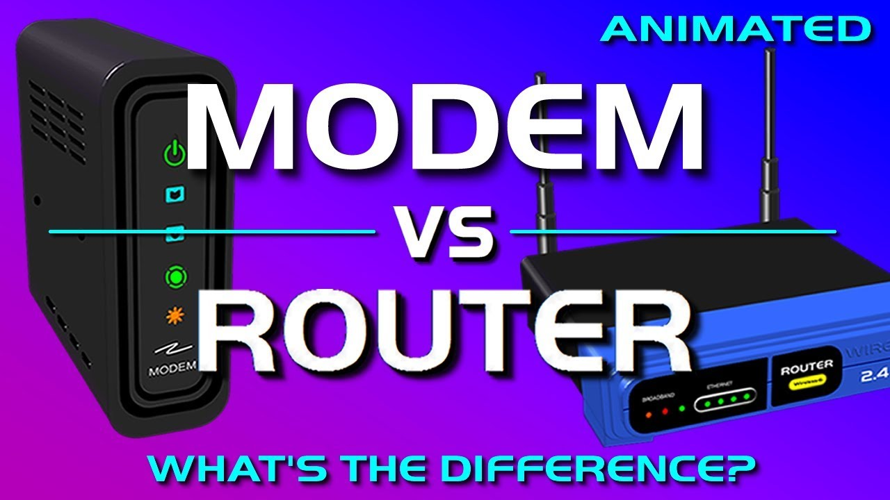 Modem vs Router - What's the difference?