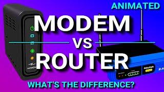 Modem Vs Router - What