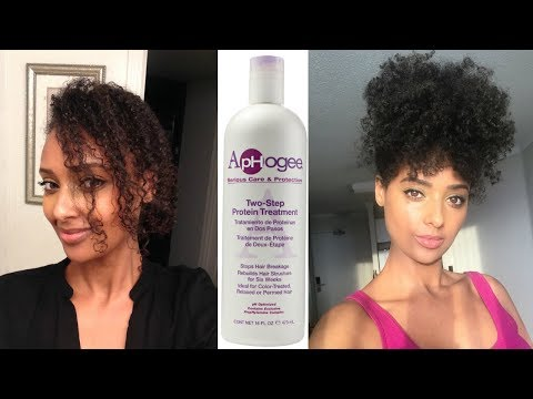 I lost my curl pattern...Did I get it back with the Aphogee 2 Step Protein Treatment?
