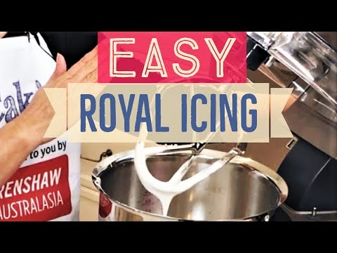 Cake! TV: How To Make Royal Icing