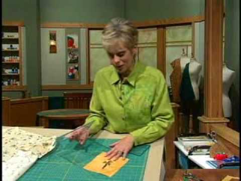Learn how to quickly and easily cut perfectly square quilt blocks