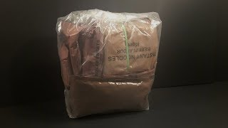 2011 New Zealand 24 Hour Operational Ration Pack MRE Review Meal Ready to Eat Taste Test