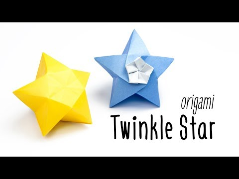 Origami Twinkle Star Tutorial ★ Inflatable Star ★ Paper Kawaii
