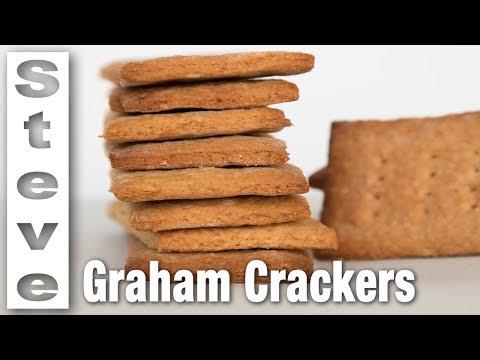 HOW TO MAKE GRAHAM CRACKERS - Homemade Honey Maid Crackers