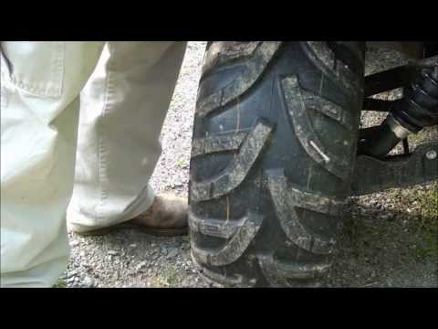 DIY - How To Repair a Flat Tire on an ATV!