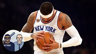 How Badly Does Carmelo Anthony Want To Leave The Knicks? | Jalen & Jacoby | ESPN
