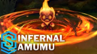 Infernal Amumu Skin Spotlight - Pre-Release - League of Legends