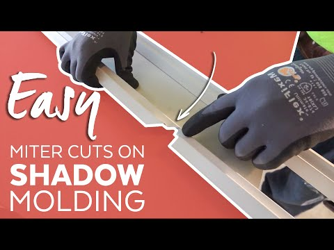 Easy One Piece Cut - Inside Corner Shadow Molding - Tips, Tricks & Pitfalls for the Job-Site