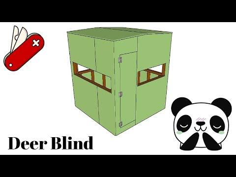 Deer Blind Plans