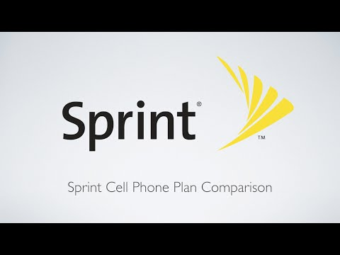 Sprint Cell Phone Plan Comparison!