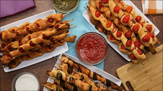 3 Ways To Eat Delicious Pizza On A Stick •Tasty